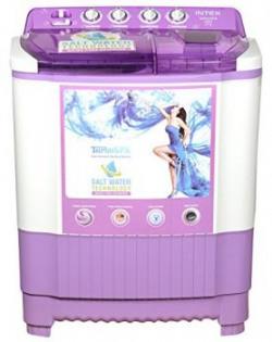Intex WMSA80LV Semiautomatic Toploading Washing Machine 8 Kg White and Lavender