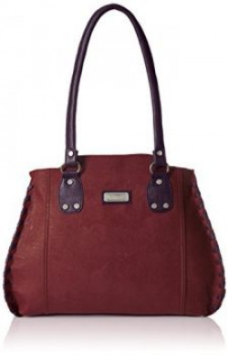 Fantosy Womens Handbag Maroon FNB213
