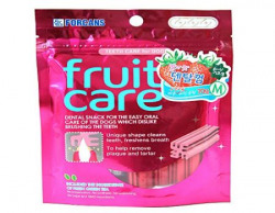 Forcans Fruit Care Strawberry Medium Dental Chew 70g