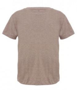 Ufo Beige Half Sleeves T Shirts