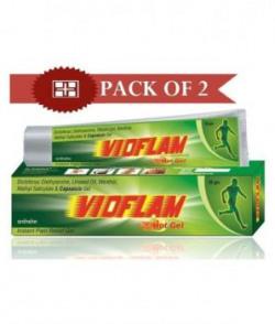 Vioflam Instant Pain Relief Gel pack Of 2