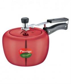Prestige Apple Plus 3 Ltr Red Inner Lid  Aluminium Pressure Cooker