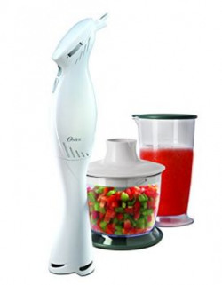 Oster 2612 Hand Blender with Chopping Attachment amp Cup