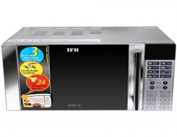 IFB 20SC2 20Litre 1200Watt Convection Microwave Oven Metallic Silver