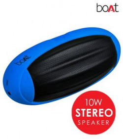 Boat Rugby Portable Bluetooth Speaker Blue