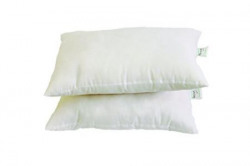 Recron 2 Piece Swiss Cotton Dream Pillow  16quotx24quot White