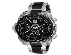 Swisstyle Analogue Black Dial Mens Watch  ssgr607blkch