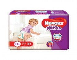 Huggies Wonder Double Extra Large Size Diapers Pants 24 Count