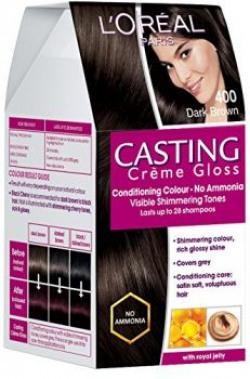 LOreal Paris Casting Creme Gloss Dark Brown 400 875g72ml