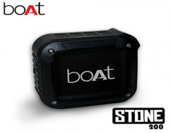 boAt Stone 200 Portable Bluetooth Speakers Black