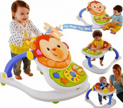 Fisher Price 4 In 1 Monkey Entertainer Multi Color