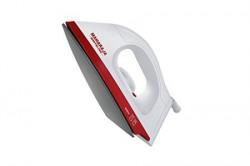 Maharaja Whiteline Easio 1000Watt Dry Iron White and Red