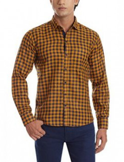 Dennison Mens Casual Shirt SS1642242Yellow