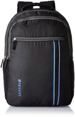 Safari 25 ltrs Laptop Backpack ConnectBlackLB
