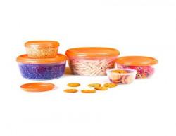 Cello Fabby Container Set 5Pieces Orange