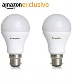 Crompton B22 18Watt LED Bulb Pack of 2 Cool Day Light