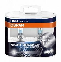 Osram HB4 P9006 Night Breaker Unlimited Duo Box 12V 55W