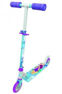 Smoby Fashion World Scooter  2 Wheels Blue