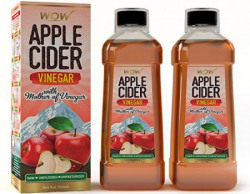 Wow Apple Cider Vinegar  750 ml Pack of 2