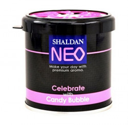 My Shaldan Neo Celebrate with Candy Bubble Air Freshener for Car 80 g