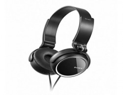 Sony MDRXB250 OnEar EXTRA BASS Headphones Black