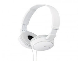 Sony MDRZX110 OnEar Stereo Headphones White
