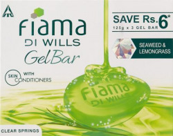 Fiama Di Wills Clear Springs Bathing Bar 125g Pack of 3