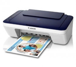 Canon Pixma E477 AllinOne InkJet Wifi Printer WhiteBlue