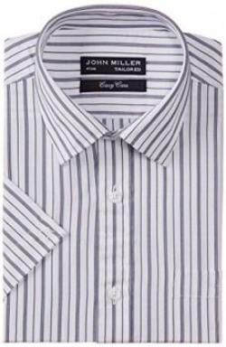 John Miller Mens Formal Shirt 8907130668235OS839539Navy