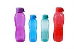 Signoraware Water Bottle Set 4Pieces Multicolor