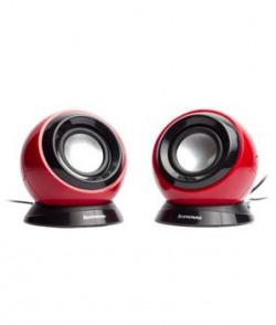 Lenovo M0520 20 Computer Speaker  Red