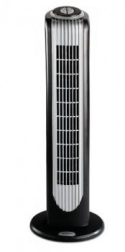 Bionaire BT16RBSIN 40Watt Remote Control Tower Fan Black and Silver