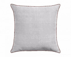 FabHomeDecor Designer Supersoft Microfibre Cushion  16quot x 16quot Grey