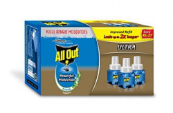 All Out Ultra Triple Refill 190 g Clear 3Pieces
