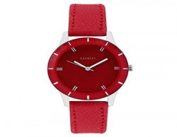 Laurels Colors Analog Red Dial Womens Watch  LoColors1003