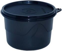 Cello Max Fresh Executive Round Large Polypropylene Container 550ml Black