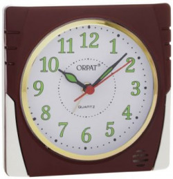 Orpat Beep Alarm Clock Burgundy TBB357