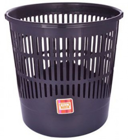 All Time Plastic Tidy Basket 65 Litres Black