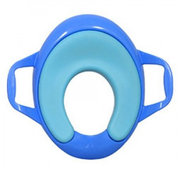 Sunbaby Ultra Soft Potty Seat with Handle BlueBlue