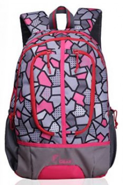 F Gear Dropsy 3D 21 Liters Casual Backpack P Pink
