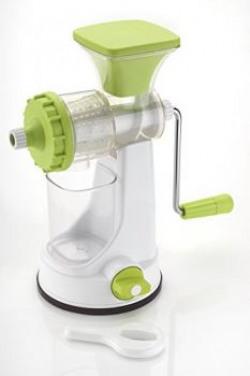 Ganesh Plastic Fruit and Vegetable Juicer Green