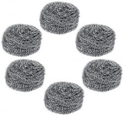 Gala Steel Scrubber Combo Set Pack of 6