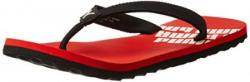 Puma Mens Issac NG DP Red and Black Flip Flops Thong Sandals  9 UKIndia 43 EU