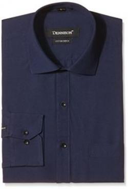Dennison Mens Formal Shirt SS16542Dark Blue