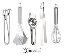 invella TM Kitchen tools combo  Set of 5