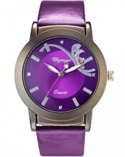 Eleganzza Analogue Casual Purple Dial Girls Watch  Casual1