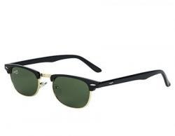 Charlie Klein 100 UV Protection Clubmaster Unisex Sunglasses ClubMasterBlack