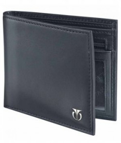 Titan Tw112lm1bk Leather Black Men Formal Wallet