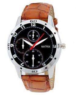 Matrix Analog Black Dial Mens WatchWCH138
