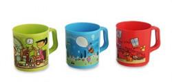 All Time Plastics Joy Mug Set Set of 3 Multicolour